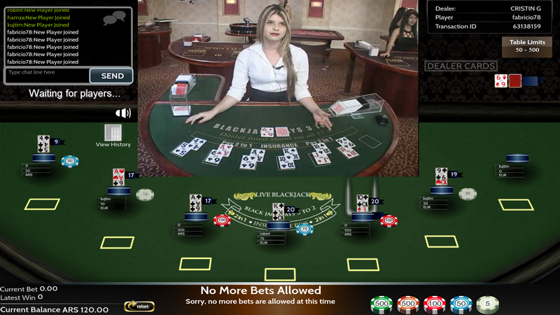 best online casino for live blackjack