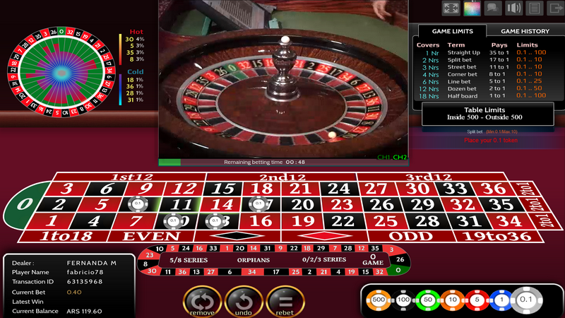 Live Casino Games | Spinit