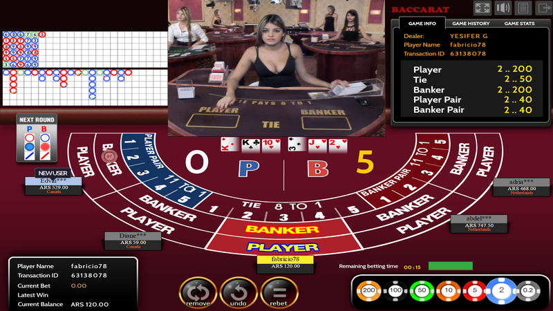 Live Dealers - Baccarat - Multiplayer