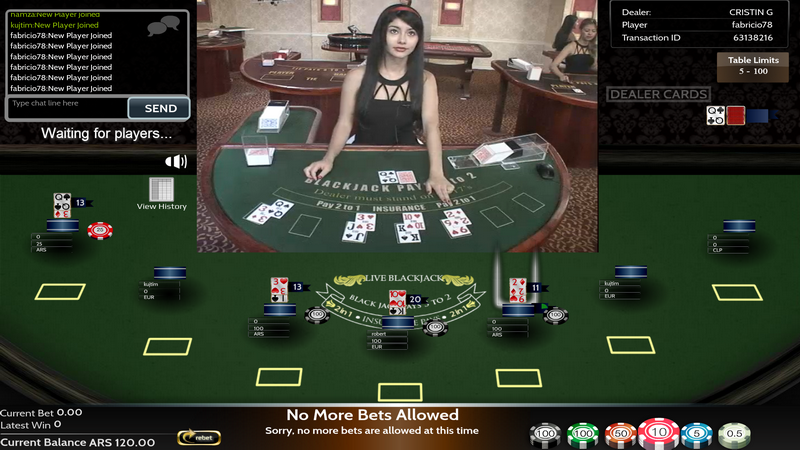 Live Dealers - Blackjack