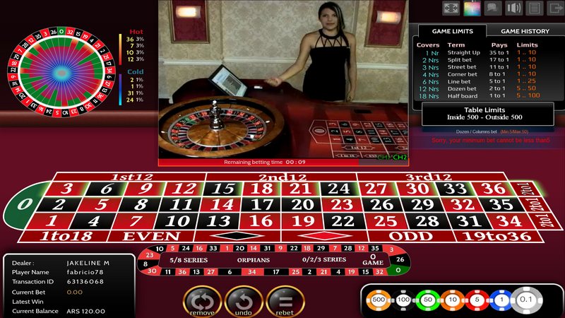 can roulette dealers hit numbers